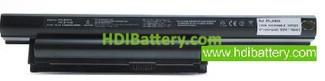 Batería ordenador portátil 10.8V 5200mAh Sony Vaio VPC-EF3S1E-WI. VGP-BPS22. VGPBPS22. VGP-BPS22A. MAS..