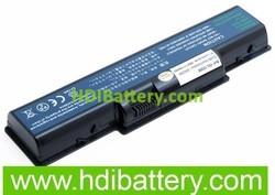 Batería ordenador portátil 11.1V 4600mAH Acer Aspire 2430, 2930, 2930-582G25MN, 2930-593G25MN