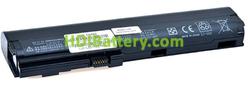 Batería ordenador portátil 11.1V 5200mAh HP Compaq EliteBook 2560p, SX06XL