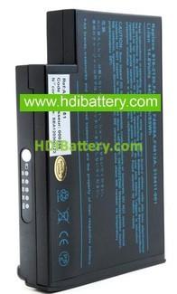 Batería ordenador portátil 14.8V 4400mAh HP Compaq Business NoteBook N1050V, NX9000.