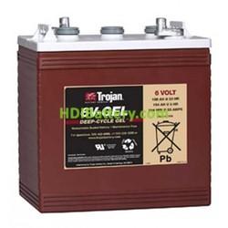 Batería para barredora 6V 189Ah Trojan 6V-GEL