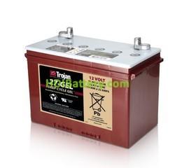 Batería para electromedicina 12V 91Ah Trojan 27-GEL