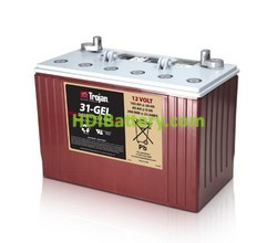 Batería para electromedicina 12V 102Ah Trojan 31-GEL