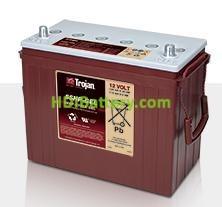 Batería para caravanas y autocaravanas 12V 125Ah Trojan 5SHP-GEL