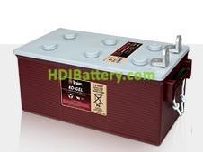 Batería para barredora 12V 225Ah Trojan 8D-GEL