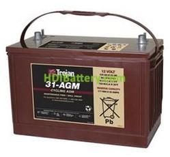 Batería para buggie de golf 12V 100Ah Trojan 31-AGM