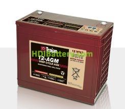 Batería para solar 12V 140Ah Trojan 12-AGM
