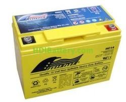 Batería para moto AGM 12V 14Ah Fullriver HC14B