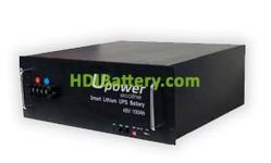 Batería para vehículo eléctrico 48V 100Ah Upower Ecoline UE-48Li100BL