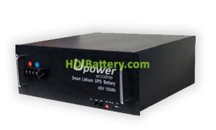Batería para carros de golf 48V 100Ah Upower Ecoline UE-48Li100BL