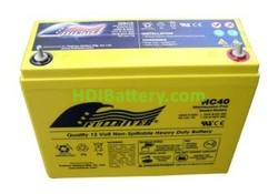 Batería para moto eléctrica 12V 40Ah Fullriver HC40