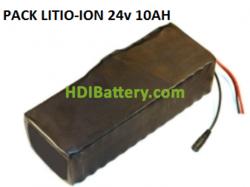 Batería Pack Litio ion Samsung 24V 10AH + BMS