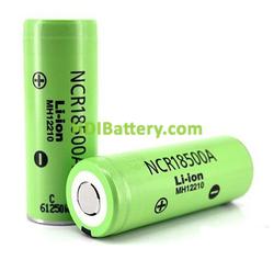 Batería Panasonic NCR18500A 2040mAh - 3.8A Sin Protección