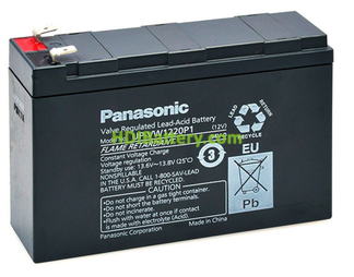 Bateria Panasonic UP-VW1220P1 12 Voltios 20W