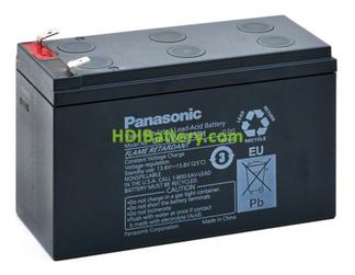 Bateria Panasonic UP-VW1245P1 12 Voltios 9 amperios 270W especial UPS SAIS