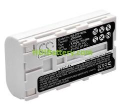 Batería para aparatos de medición 7.4V 2200mAh Topcon 100