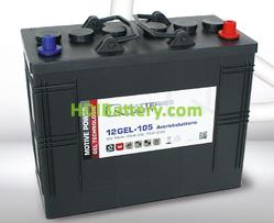 Batería para apiladora 12v 105Ah Q-Batteries 12GEL-105