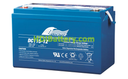 Batería para apiladora 12V 115Ah Fullriver DC115-12B