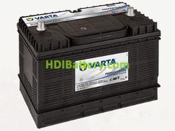 Batería Varta Professional Dual Purpose 12v 105Ah 800A LFS105N 330 x 175 x 240 mm