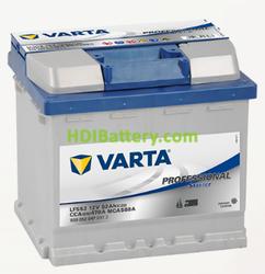 Batería para barco Varta Professional Starter 12v 52Ah 470A LFS52 207 x 175 x 190 mm
