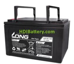 Batería para barredora 12V 100Ah Long LGK100-12N