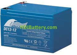 Batería para bicicleta eléctrica 12V 12Ah Fullriver DC12-12