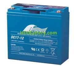 Batería para bicicleta eléctrica 12V 17Ah Fullriver DC17-12