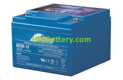 Batería para bicicleta eléctrica 12V 26Ah Fullriver DC26-12B