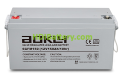 Batería para buggie de golf 12V 150Ah Aokly Power 6GFM150