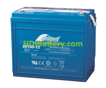 Batería para caravana 12V 145Ah Fullriver DC145-12