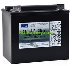 Batería para carro de golf 12V 25Ah Gel Sonnenschein GF12025YG