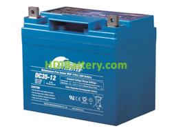 Batería para carro de golf 12V 35Ah Fullriver DC35-12B
