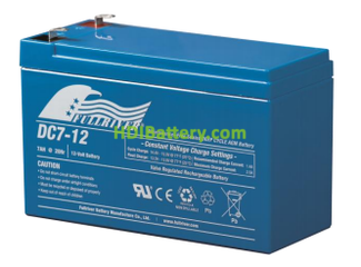 Batería para carro de golf 12V 7Ah Fullriver DC7-12