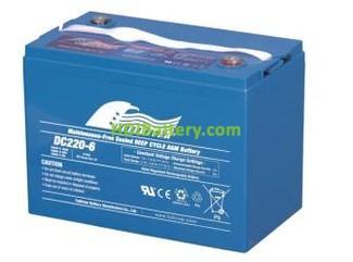 Batería para carro de golf 6V 220Ah Fullriver DC220-6