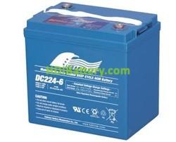 Batería para carro de golf 6V 224Ah Fullriver DC224-6A