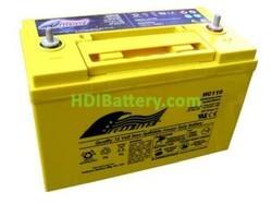 Batería para coche AGM 12V 110Ah Fullriver HC110