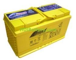 Batería para coche AGM 12V 80Ah Fullriver HC80