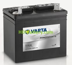 Bateria para cortacesped Varta 12v 22ah 340A PowerSports Gardening U1R(9) 196 x 132 x 183 mm