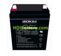 Batería para electromedicina 12V 2.9Ah 6FM2.9 Aokly Power