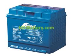 Batería para electromedicina 12V 50Ah Fullriver DC50-12A