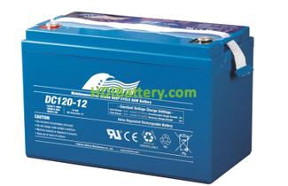 Batería para fregadora 12V 120Ah Fullriver DC120-12B