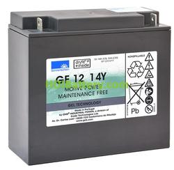 Batería para fregadora 12V 14Ah Gel Sonnenschein GF12014YF