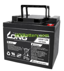 Batería para fregadora 12V 50Ah Long LG50-12N