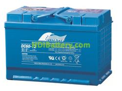 Batería para fregadora 12V 60Ah Fullriver DC60-12B