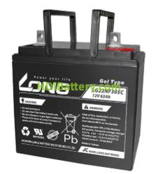 Batería para fregadora 12V 62Ah Long LG22NF305