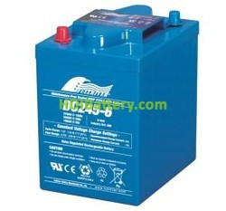 Batería para fregadora 6V 245Ah Fullriver DC245-6
