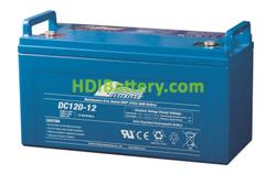 Batería para grúa ortopedia 12V 120Ah Fullriver DC120-12A