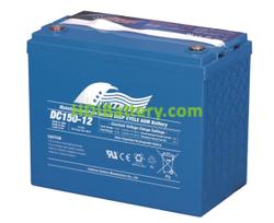 Batería para grúa ortopedia 12V 150Ah Fullriver DC150-12