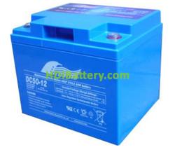 Batería para grúa ortopedia 12V 50Ah Fullriver DC50-12B