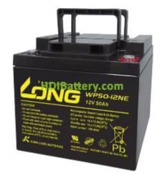Batería para grúa ortopedia 12V 50Ah Long WP50-12NE